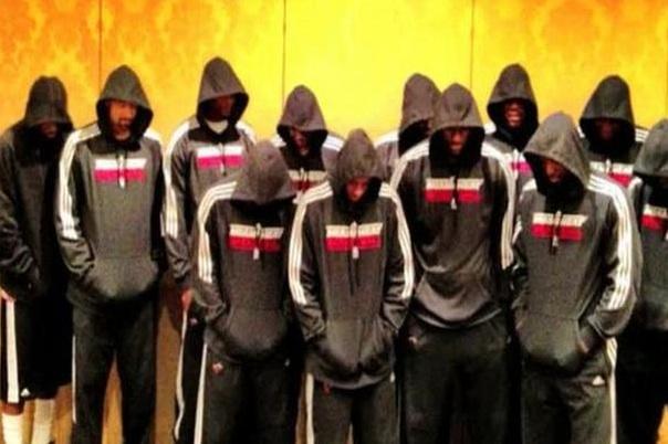 Miami Heat in Hoodies
