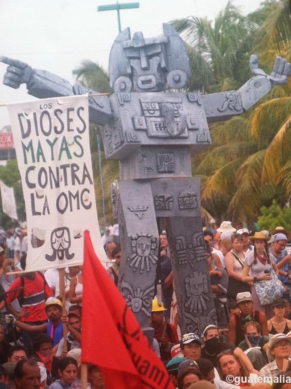 dioses mayas contra la omc