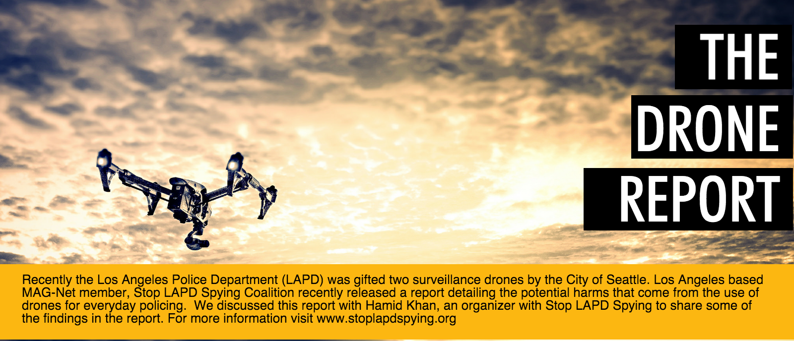 Stop LAPD Spying Drone