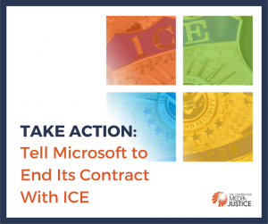 Take Action: Demand Microsoft Drop ICE
