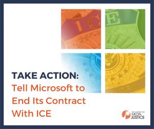 Take Action: Demand Microsoft Drop ICE
