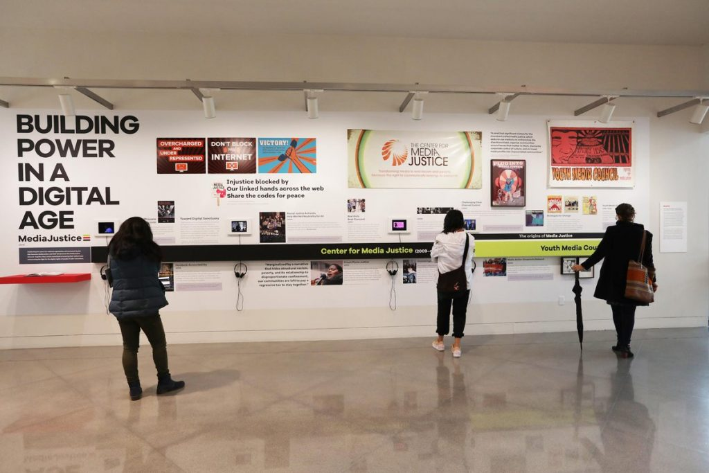 A 2019 exhibit at the Yerba Buena Center for the Arts, We Are Here, documents the history of our organization