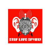 Stop LAPD Spying Coalition Logo